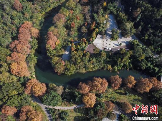 贵阳阿哈湖国家湿地公园。 瞿宏伦 摄