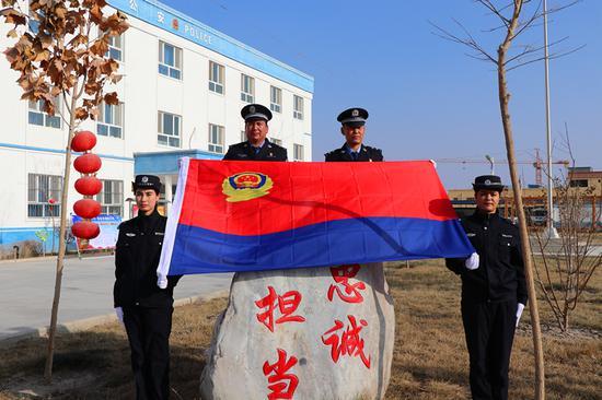 新疆阿瓦提公安喜迎首個人民警察節