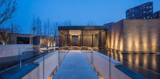 杭州世茂璀璨澜庭实景图。聚星官网世茂 供图