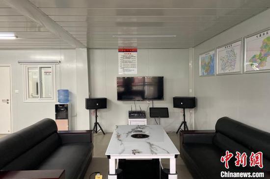 图为站内环境展示。