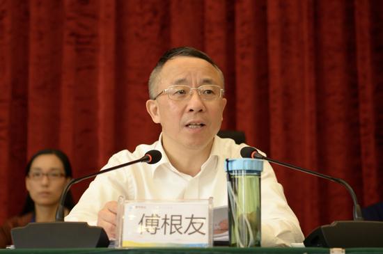 衢州市委常委、统战部部长傅根友。  衢州市委统战部 供图
