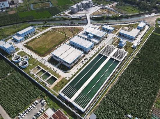 温岭市大溪水厂  温岭供图