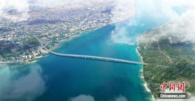 中菲政府合作达沃—萨马尔岛大桥项目签署商务合同