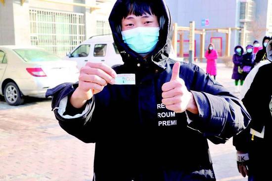 库尔勒市民警反诈小标签发挥为民服务大作用