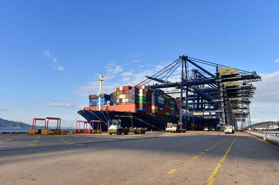 外贸大市宁波2020年进出口总额达9786.9亿元 同