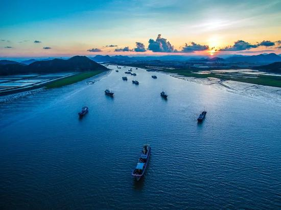 浙江健跳港2020年货物吞吐量861.5万吨 同比增长1.9%
