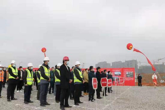 浙江常山30个重点项目集中开工 总投资45亿元