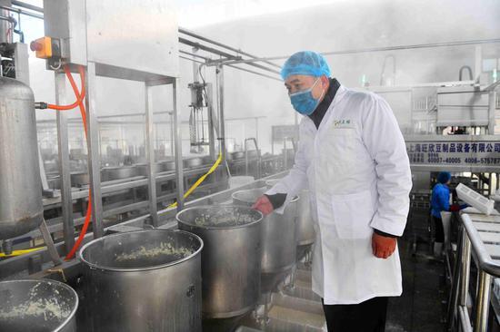 宁夏青铜峡:老豆腐新科技 绿色环保飘香四海