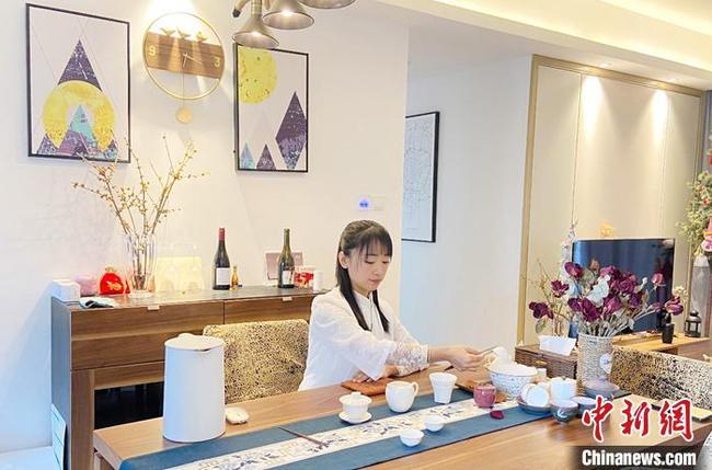 """印尼高校师生线上品味中国""""活色茶香"""""""
