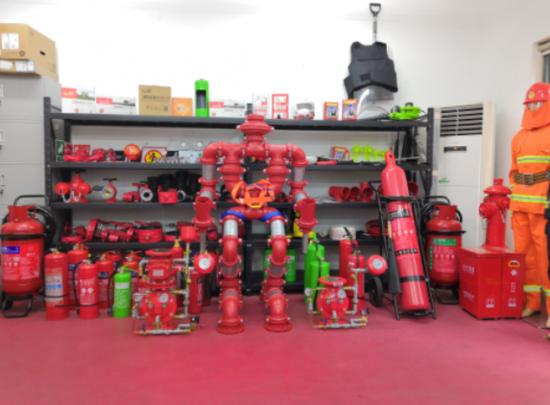 资料图:江山消防企业产品。蒋俊锋 摄