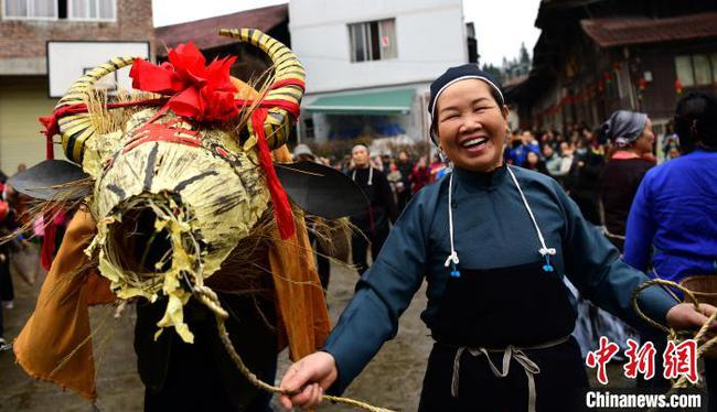 广西龙胜:特色民俗迎新春