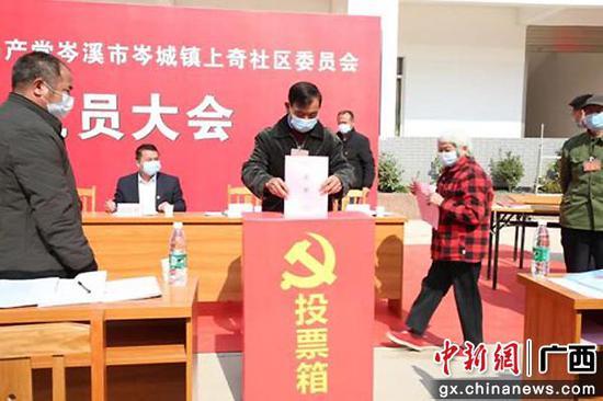 """广西岑溪市""""四个一批""""推动290个村(社区)党组织书记上任"""