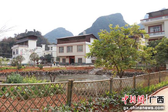 广西桂林平乐县掀起乡村风貌改造热潮