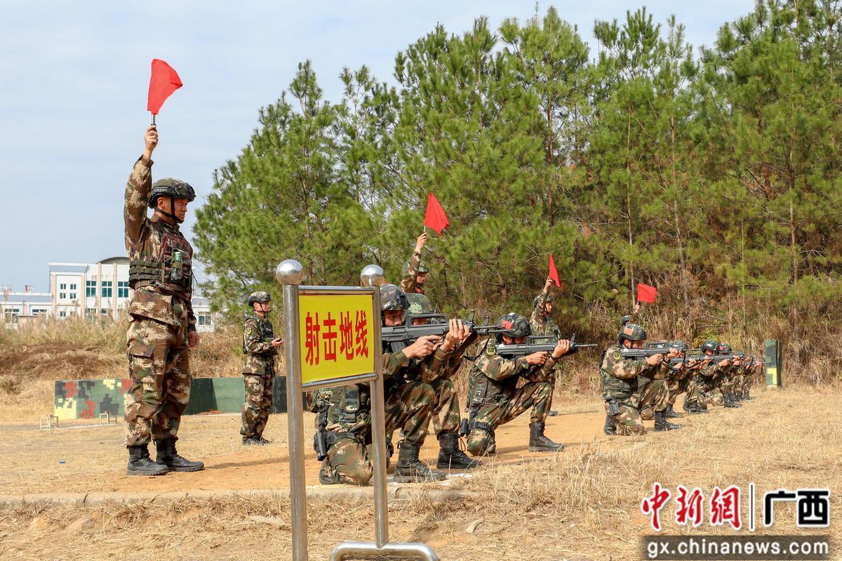 """武警柳州支队:特战队员的种子选手""""发芽"""""""