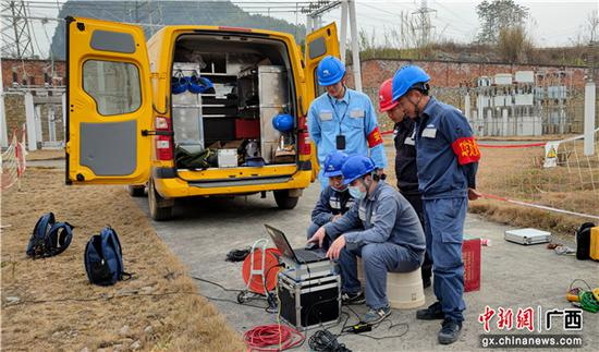 崇左供电公司圆满完成2021年春节保供电各项任务