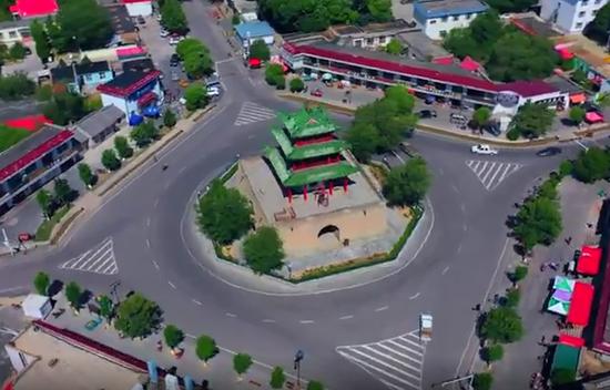 """全国重点文物保护单位""""惠远古城"""""""