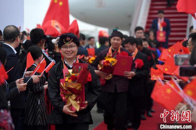 广西为参加全国脱贫攻坚总结表彰大会返回代表举行欢迎仪式