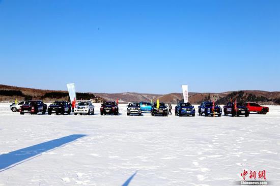 2021(首届)皮卡冰雪驾控体验营黑河开幕