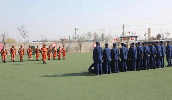 新疆森林消防总队跨省驻防:交流学习促提高
