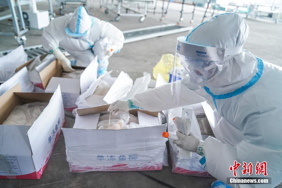 防城港进口冷链食品监管仓核酸检测实验室投入使用