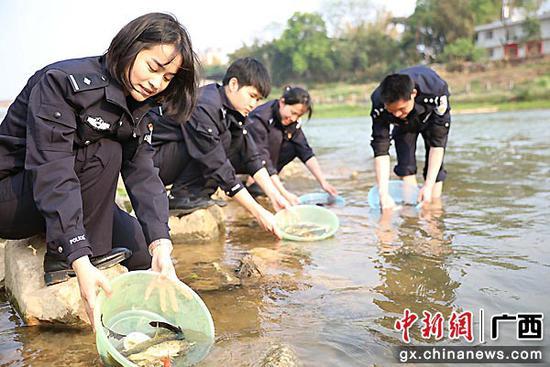 贺州市平桂公安分局为美丽文明城市贡献公安力量