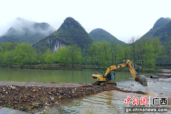 广西桂林灌阳县春修水利备耕忙