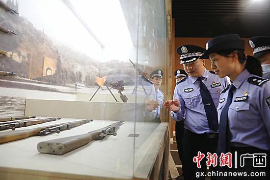 贺州平桂公安分局传承红色基因 筑牢信仰之基