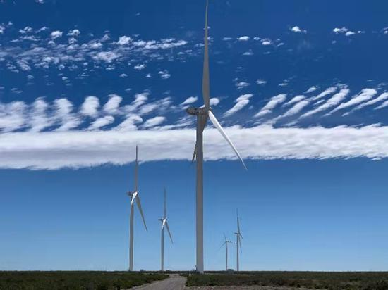 """贵阳""""大风车""""即将在阿根廷投运 每年可减少碳排放180万吨"""