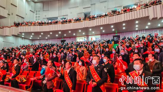 """桂林临桂区党员干部""""零距离""""感受勤廉榜样力量"""