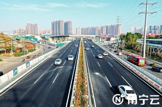 南宁49个项目纳入第二批自治区层面统筹推进重大项目 邕宾立交上跨快环主线今年将通车