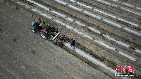 大地回暖 新疆巴州300万亩棉花开播