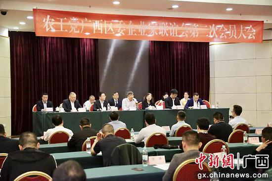 周建伟当选农工党广西区委企业家联谊会第二届会长
