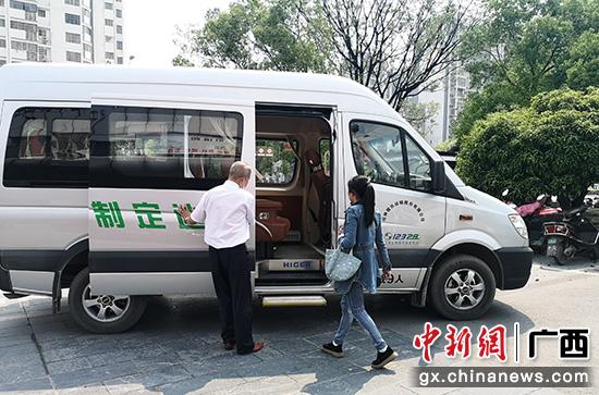 """桂林提升客运快车服务 新增5条""""点到点""""定制班线"""