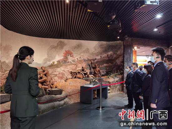 桂林铁路地区开展党史学习教育骨干党员现场教学