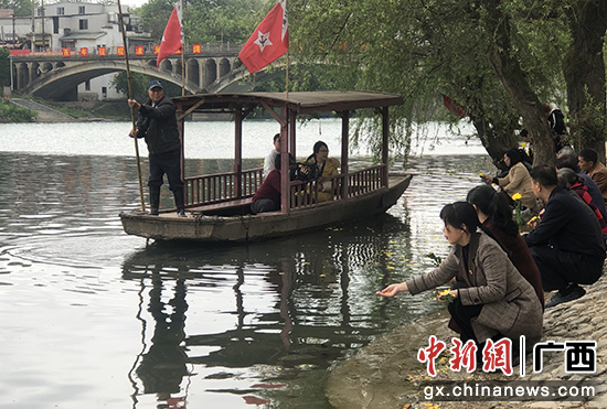 """桂林兴安县成为祭奠先烈和党史教育""""热点"""""""
