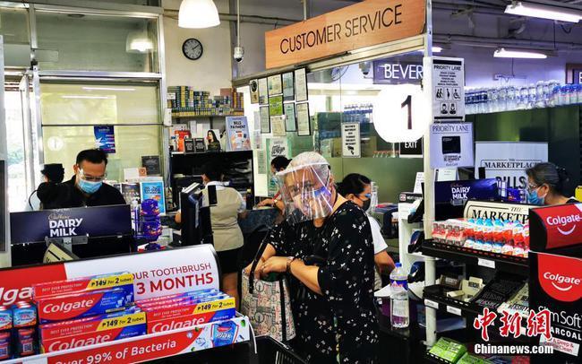 马尼拉封城政府保障市场供应物价平稳
