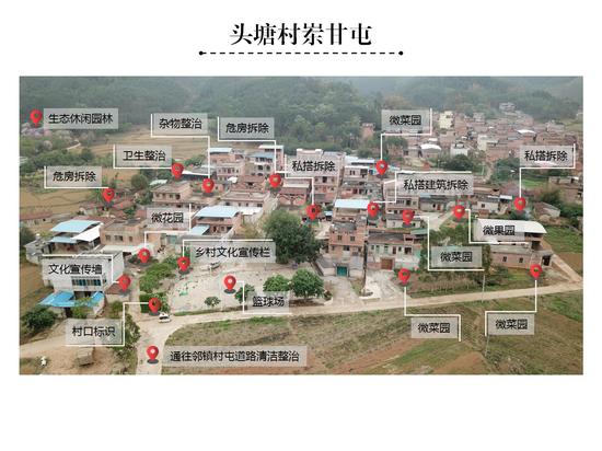 南宁乡镇开展风貌提升 画好一张图助力乡村振兴