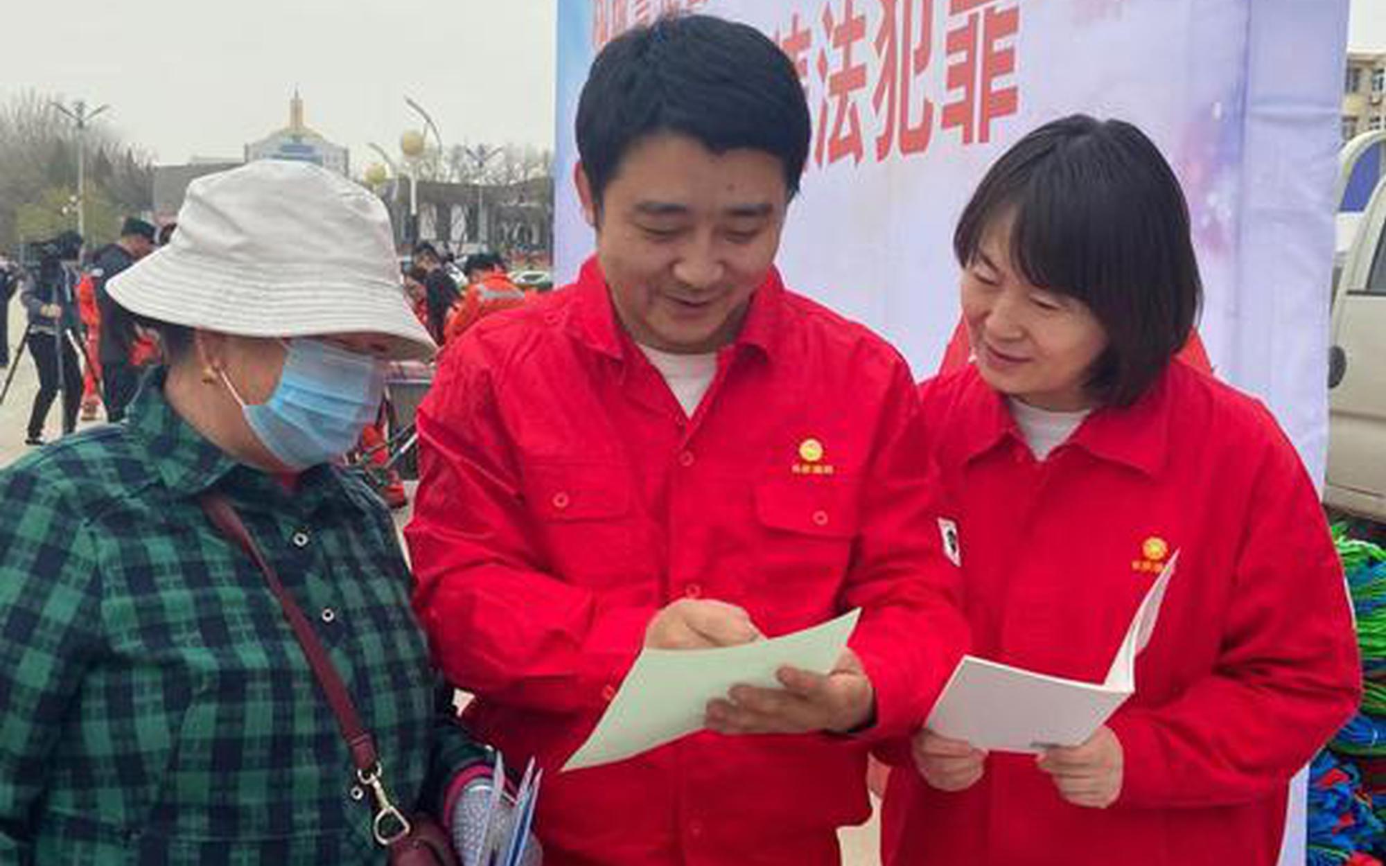 宁夏公安开展严厉打击涉油气违法犯罪主题宣传活动