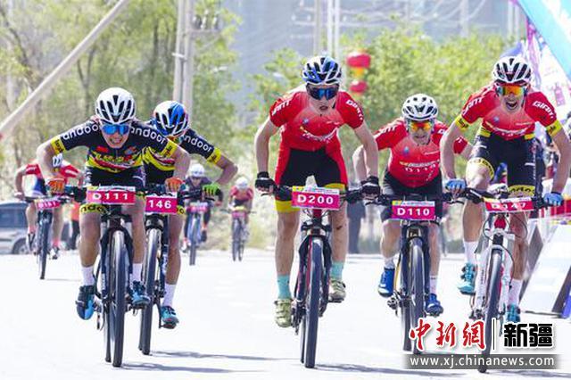 新疆库尔勒市成功举办环天鹅河山地自行车挑战赛