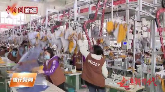 喀什地区加快推进纺织服装产业高质量发展