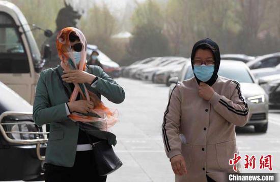 宁夏一个月内遭遇三次沙尘天气