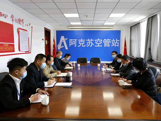 新疆空管局培训中心开展阿克苏空管站管制员英语综合能力提升训练