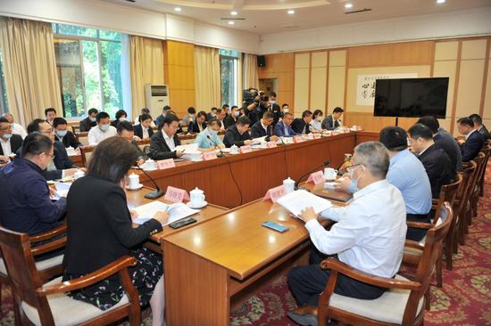 图为会议现场 云南省政府办公厅供图