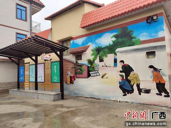 贵港覃塘街道龙凤村杨屋屯:风貌塑形 产业做实