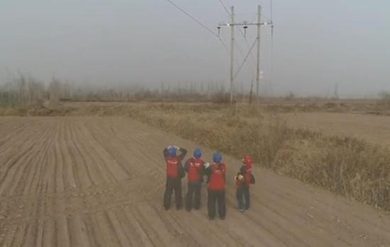 国网喀什供电公司:全力应对大风扬沙天气