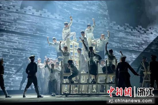演出现场。  浙江音乐学院提供
