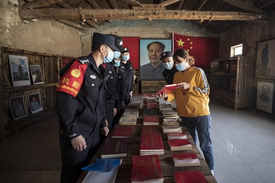 学党史、忆芳华,新疆铁警在行动