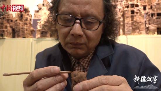 雕塑家王忠民:用泥塑传递新疆记忆