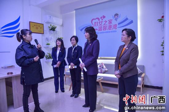 全国妇联书记处书记赵雯赴广西兴安县调研