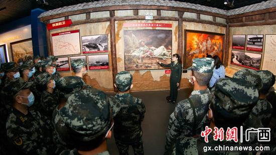 武警广西总队桂林支队开展党史学习教育主题党日活动